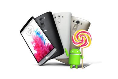 LG G3 будет постепенно переходить на Android 5.0 Lollipop